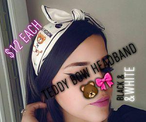 Teddy Bow Headband 🐻🎀 $12 each for Sale in Bloomington, CA