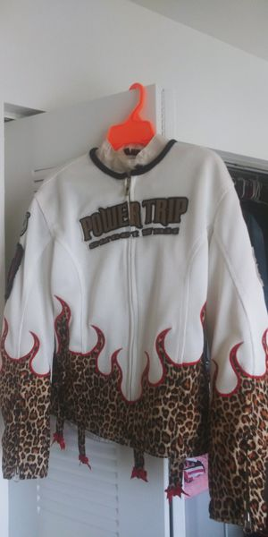Womens motorcycle jacket like new! for Sale in Miami, FL