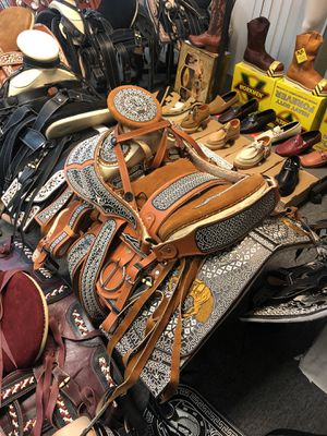 Brand New Horse Saddle 🐎 Monturas Para Caballo for Sale in Carson, CA