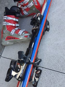 Used Nordica Ski Boots And K2 Skis With Bindings for Sale in East Wenatchee,  WA