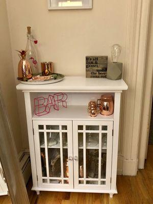 White cabinet for Sale in Hoboken, NJ