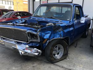 Chevy c10 short bed. Complete or part it of price its right for Sale in Los Angeles, CA