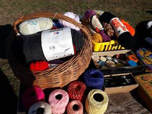Over 100 rolls of yarn for Sale in Seaford, DE