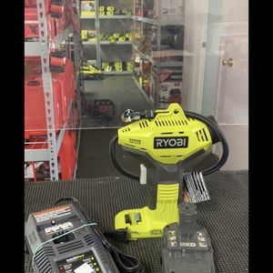 Air Inflator (Ryobi 18V) With battery,charger Set (Like new) $55 for Sale in La Habra, CA