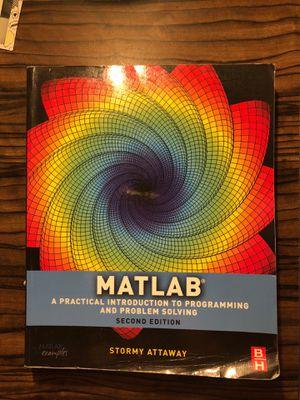 MATLAB textbook for Sale in Starkville, MS