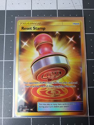 Pokemon TCG Secret Rare Reset stamp (holographic) for Sale in San Diego, CA