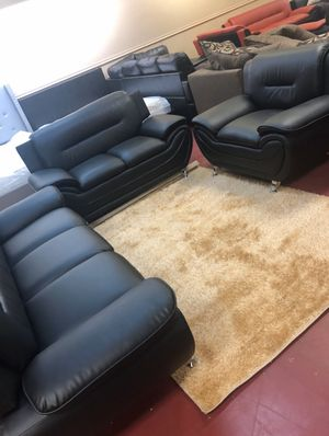 Living room three El Rio furniture 1456 belt line rd Suite 121 garland tx 75044 Open 7 days a week 9:30-8pm Finance available for Sale in Garland, TX