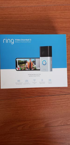 Ring video doorbell 3 for Sale in Alhambra, CA