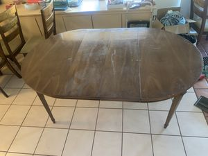 Table 5 1/2 ft x 3 1/2 ft with 6 chairs for Sale in Phoenix, AZ