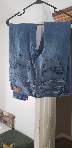 Womwns size 6 american eagle Jean's akinny for Sale in Mifflinburg, PA