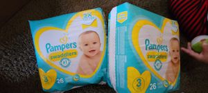 Size 3 n 4 diapers (please read) for Sale in Denver, CO