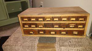 Antique pharmacist medicine cabinet for Sale in Phoenix, AZ