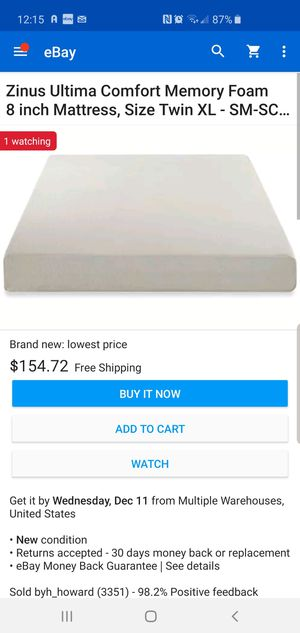 Zinus for Sale in Millstadt, IL