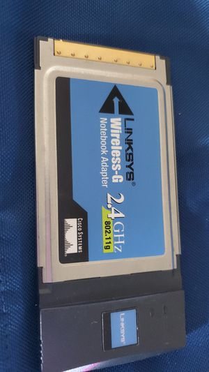 Linksys 2.4Ghz Notebook Adapter for Sale in Denver, CO