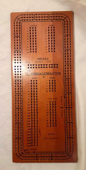 Vintage Cribbage Master Game for Sale in Bakersfield, CA