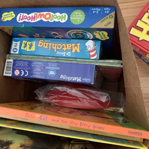 Small Kids Board Games And Books for Sale in National City, CA
