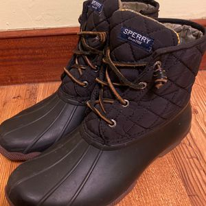 Sperry Saltwater Duck Boot - Women's sz 8-Great Condition for Sale in West Valley City, UT