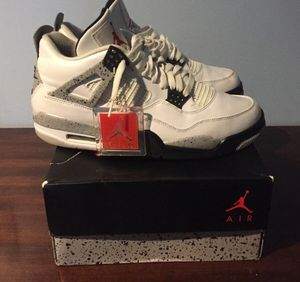 "Nike air Jordan retro 4 ""white cement"" for Sale in Alexandria, VA"