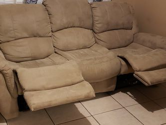 "NEED GONE ASAP!! Couch with two recliners, good condition (91"" long, 41"" wide, 41"" tall)... $250 for Sale in Nashville,  TN"