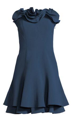 Cinq de light turquoise Mini ruffle dress for Sale in Elkridge, MD