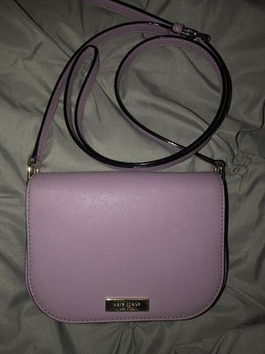 """Kate Spade """"Laurel Way Carsen Saffiano Leather Crossbody in Lilac"""" for Sale in Los Angeles, CA"""
