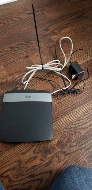 Linksys wifi router e2500 for Sale in Galloway, OH