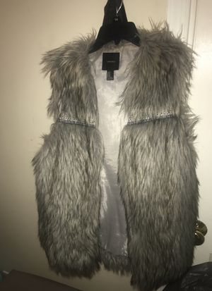 Forever 21 fur vest for Sale in Chevy Chase, DC