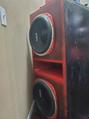 "Orion hcca 15"" 5000 watts each 52x22x20 for Sale in San Bernardino, CA"