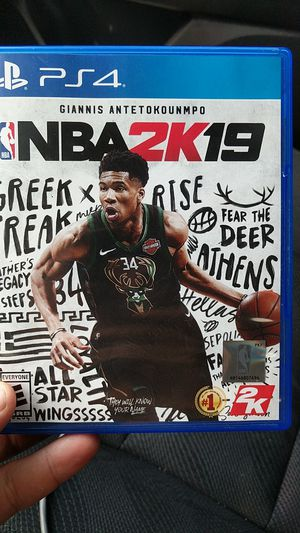 NBA 2k19 For Ps4 for Sale in Lexington, KY