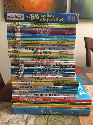 Lot of 39 Dr. Seuss Bright & Early Learning books Berenstain Bears for Sale in Fort Lauderdale, FL
