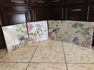 Bird Wall Decor Canvases for Sale in Bakersfield, CA