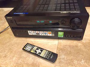 Onkyo 80 Watt per Ch. (5.1) 3D-HDMI network Surround Receiver for Sale in Miami, FL