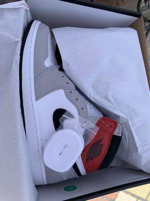 Air Jordan Retro 1 smoke grey men's shoes for Sale in La Puente, CA