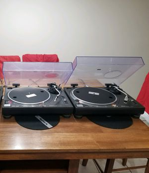 Two technics 1210 mark 2 for Sale in Staten Island, NY
