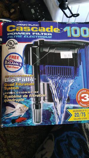 Cascade 100 quad filter for Sale in Cumberland, RI