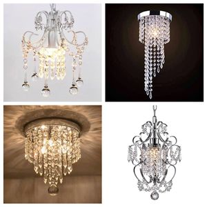 Mini Chandelier Flush Mount Ceiling Light Modern Crystal Ceiling Chic Hanging Lamp for Sale in Toms River, NJ