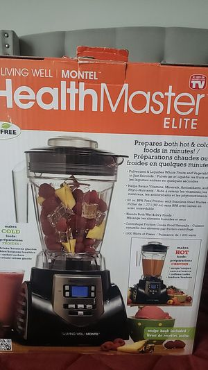 Living Well Montel HealthMaster Elite Blender Smoothie PARTS ONLY for Sale in Boston, MA