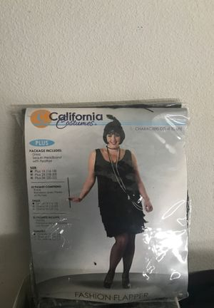 Halloween Costume Flapper Girl for Sale in Riverside, CA