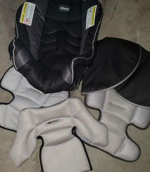 Chicco Key Fit 30 Car Seat Cover, Infant Insert, and Cover Canopy for Sale in Westminster, CO