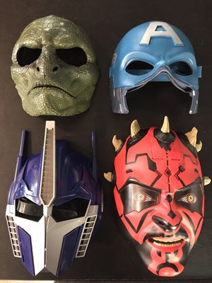 Kids Toy Masks - $20 for the lot for Sale in Roseville, CA