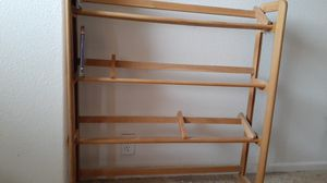 Movie/CD stand with steppers for Sale in Fountain, CO