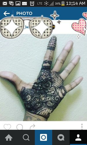 Henna palm and foot for Sale in Hampton, VA
