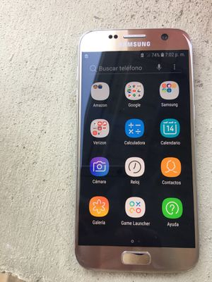 Galaxy s7 factory unlocked good condition 125 for Sale in Chicago, IL