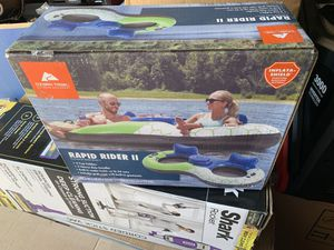 RAPID RIDER II (2) PERSON PUNCTURE RESISTANT RAFT WITH BUILT IN COOLER for Sale in Tracy, CA