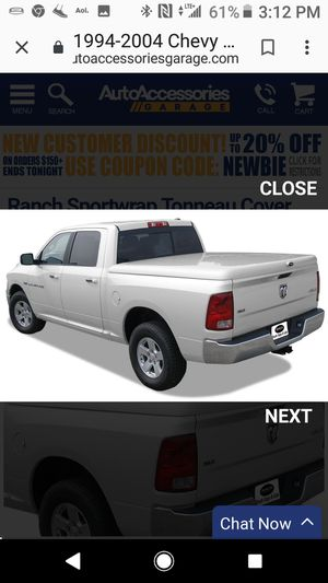 2001 Chevy S10 fiberglass bed lid for Sale in Sanger, CA