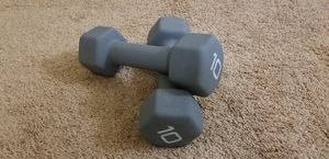 Dumbbells Weights 10 lbs for Sale in Mountain View, CA