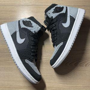 Nike Flyknit Jordan 1 Shadows size 7y for Sale in San Jose, CA