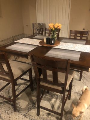 Bolton Oak counter height dining table for Sale in Stockton, CA