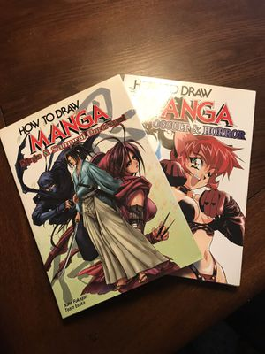 Two (2) How to Draw Manga Books for Sale in Lancaster, PA