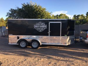 2016 LOOK ENCLOSED MOTORCYCLE TRAILER for Sale in Gilbert, AZ